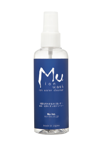 Mu ion 除菌・洗浄ができるイオン水クリーナー100ml スプレー