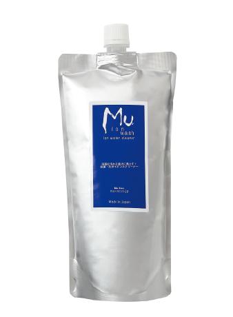 Mu ion 除菌・洗浄ができるイオン水クリーナー500ml レフィルパック