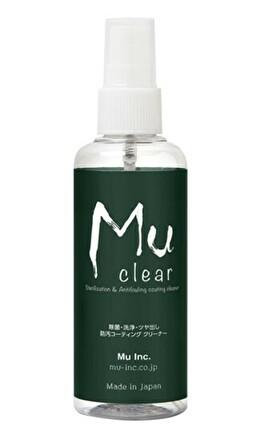 Mu clear -Sterilization & Antifouling Coating Cleaner- 除菌・洗浄・ツヤ出し・防汚コーティング クリーナー 100ml