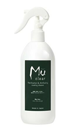 Mu clear -Sterilization & Antifouling Coating Cleaner- 除菌・洗浄・ツヤ出し・防汚コーティング クリーナー 350ml